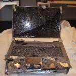 Schade aan laptop