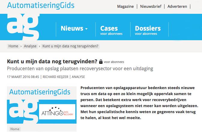 Bron: Automatiseringgids.nl door Richard Keijzer